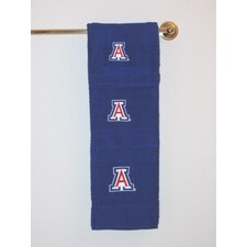 NCAA 3 Piece Bath Towel Set