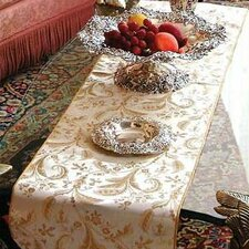 Luxury Damask Design Table Runner