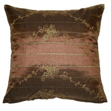 Swiss Embroidered Lace Decorative Throw Pillow