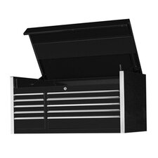 "55"" 10 Drawer Professional Tool Chest in Black"