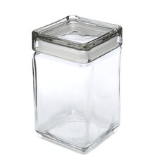 1.5-qt Stackable Glass Jar with Glass Lid