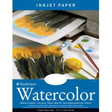 Watercolor Inkjet White Papers (Set of 8)