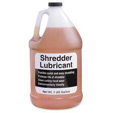 Shredder Lubricant, w/ Funnel, One Gallon