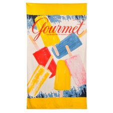 Conde Nast Popsicles Beach Towel