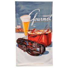 Conde Nast Lobster Gourmet Beach Towel