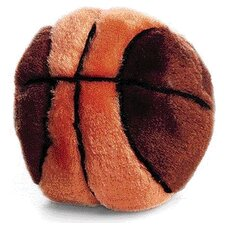 Plush Basketball Dog Toy