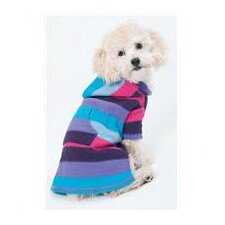 Stripe To Stripe Dog Dress Pink