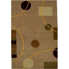 Contempo Beige/Brown Rug