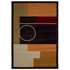 Contempo Multi/Black Rug