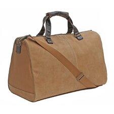 "Leon 20"" Leather Weekender Duffel"