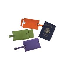 Slideout Privacy Luggage Tag