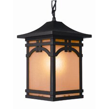 Courtyard 1 Light Chain Pendant