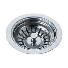 Classic Kitchen Sink Flange and Basket Strainer