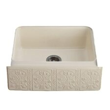 "Savanyo Design On Alcott 25"" X 22"" X 8-5/8"" Under-Mount Kitchen Sink with 5 Oversize Faucet Holes"