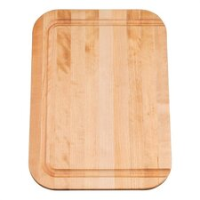 "Hardwood Cutting Board, Fits 15-3/4"" Front-To-Back Basin"