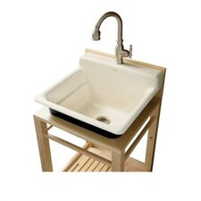 "Bayview 24"" x 11"" Wall-Mount Utility Sink"