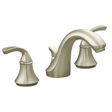 Forté Widespread Lavatory Faucet with Sculpted Lever Handles