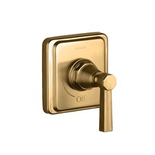 Pinstripe Volume Control Trim, Lever Handle, Valve Not Included