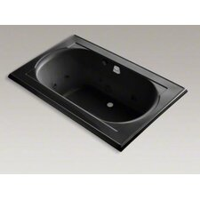 "Memoirs 66"" X 42"" Drop-In Whirlpool Bath with Reversible Drain, Heater and Custom Pump Location Without Jet Trim"