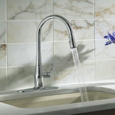 Simplice Single-Hole Pull-Down Kitchen Faucet