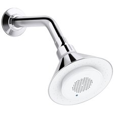 Moxie 2.5 GPM Showerhead and Wireless Speaker