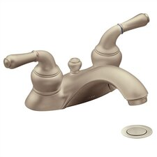 Monticello Centerset Bathroom Faucet with Double Lever Handles