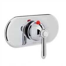Axor Carlton Ecomax Trim with Thermostatic Valve and Lever Handle