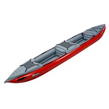 Helios II EX Inflatable Kayak in Red / Gray