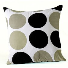 Checkers Cushion in Ecru