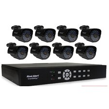 DCA8810-520 SmartBridge 8-Channel DVR Video Security System