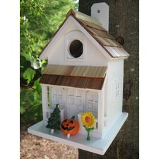 "Fledgling Series Small ""Little Season's Tweetings"" Birdhouse"
