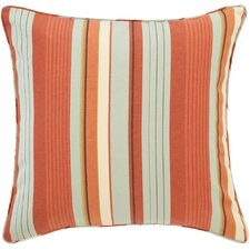 October Stripe Decorative Pillow