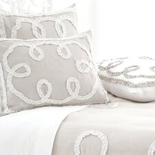 Ruched Linen Duvet Cover Collection