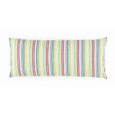 Rainbow Cotton Boudoir Pillow