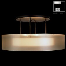 Quadralli 3 Light  Drum Pendant