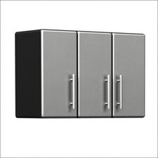 3-Door Partitioned Wall Cabinet