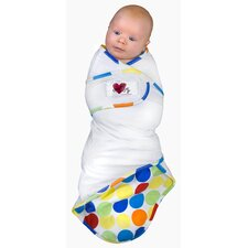 Snug and Tug Swaddle Blanket, Rainbow Love - Small
