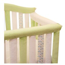 "Teething Guard White and Green - 30"" x 12"""