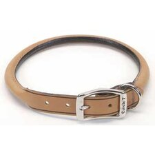 "Pet 0.4"" W Leather Round Collar"