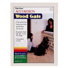 Wood Expansion Pet Gate