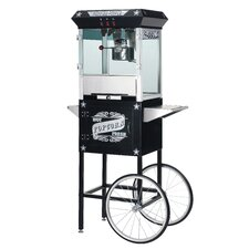Paducah 8 Ounce Antique Popcorn Machine with Cart