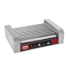 Commercial 24 Hot Dog 9 Roller Grilling Machine