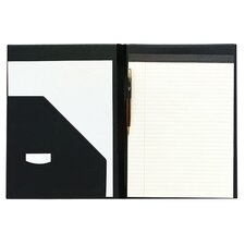 "Economy Pad Holder, Letter, 9-7/16""x3/16""x12-19/32"", Black"