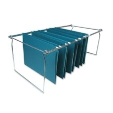 Hanging File Folder Frames, Legal, Stainless Steel
