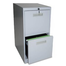 "20"" File/File Mobile Pedestal Files, Light gray"