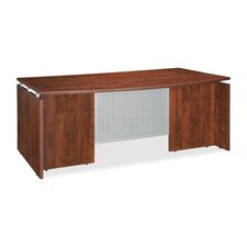 Bowfront Executive Desk Shell