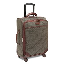"Wings 20"" Expandable Mobile Traveler Spinner in Cognac"