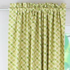 Chit Chat Cotton Rod Pocket Curtain Single Panel