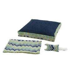 See Saw 3 Piece Boxed Pet Bed Set