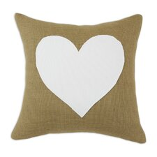 Cotton/Burlap KE  Pillow